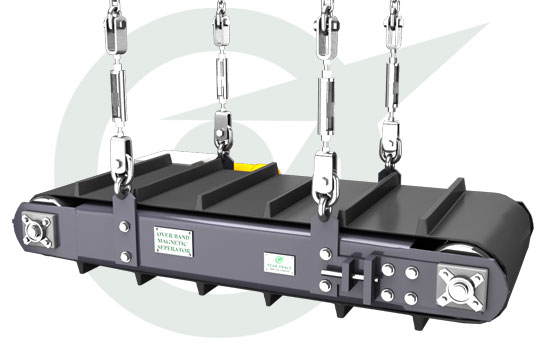 Overband Permanent Magnetic Separators